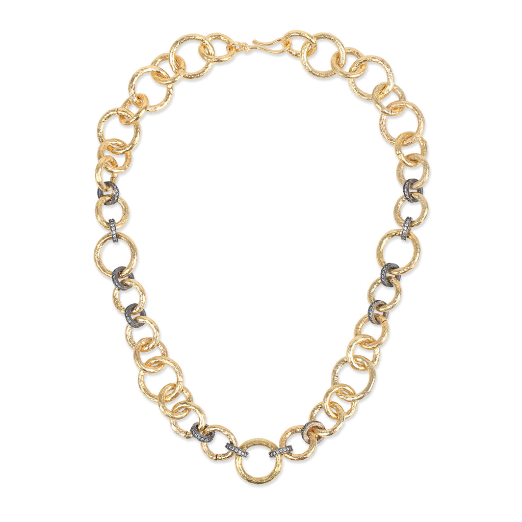 SHORT CHAINLINK NECKLACE