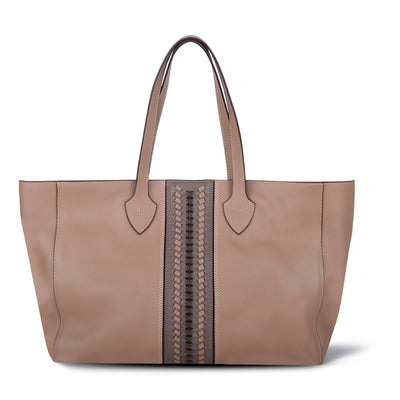 DONNA LIGHT COFFEE LEATHER