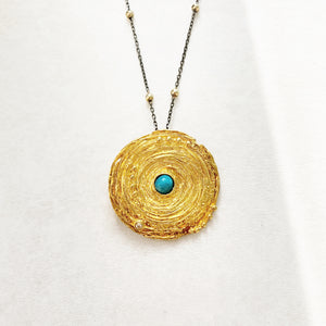 GOLDEN NEST PENDANT