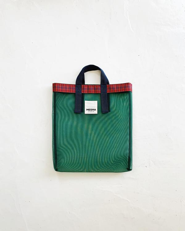 IRENA SHOPPER TOTE | FOREST GREEN