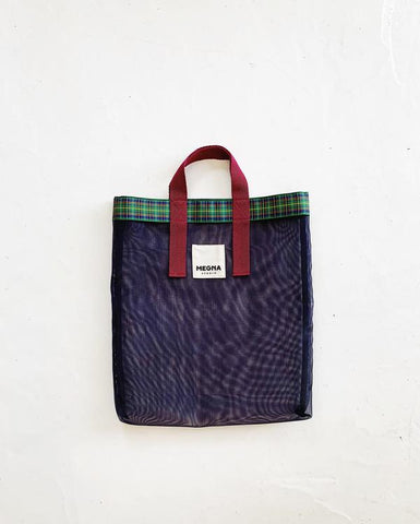 IRENA SHOPPER TOTE | NAVY BLUE
