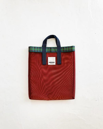 IRENA SHOPPER TOTE | CARDINAL RED