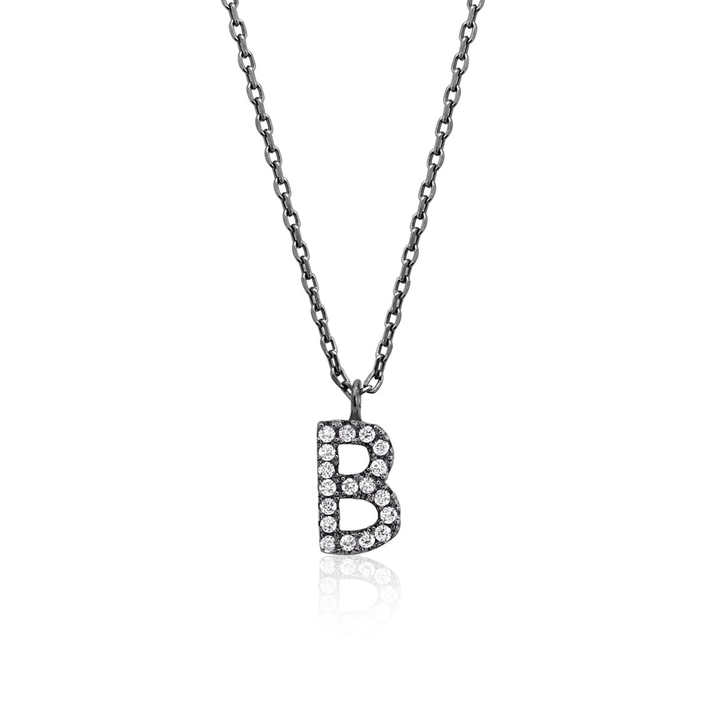 "INITIAL NECKLACE ""B"""