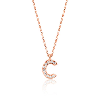 "INITIAL NECKLACE ""C"""