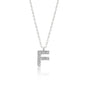 "INITIAL NECKLACE ""F"""