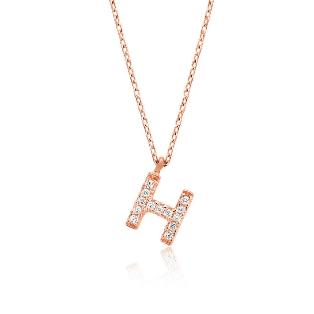 "INITIAL NECKLACE ""H"""