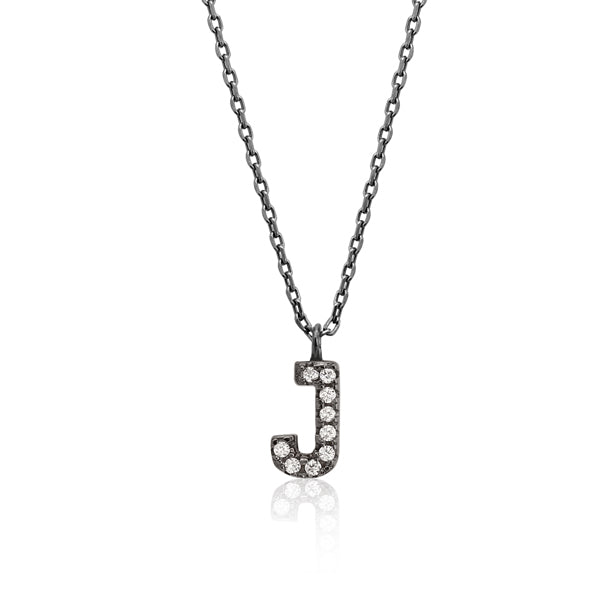 "INITIAL NECKLACE ""J"""