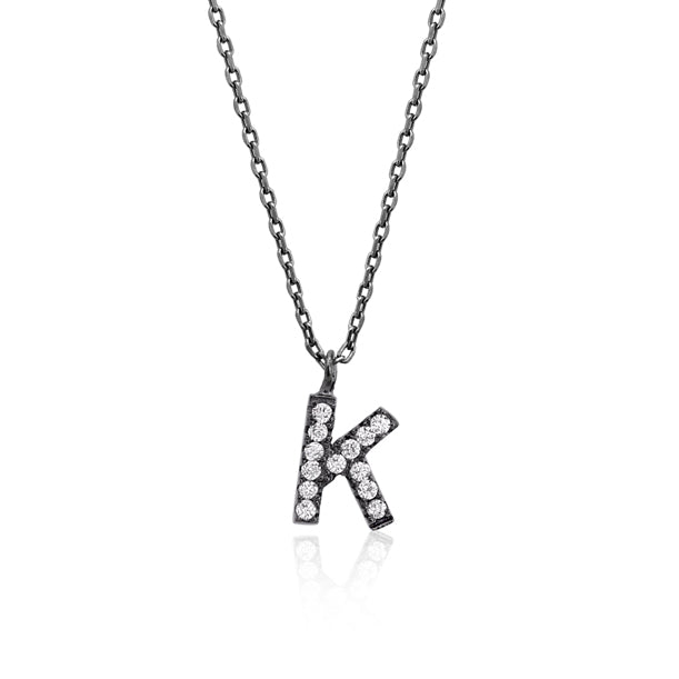 "INITIAL NECKLACE ""K"""