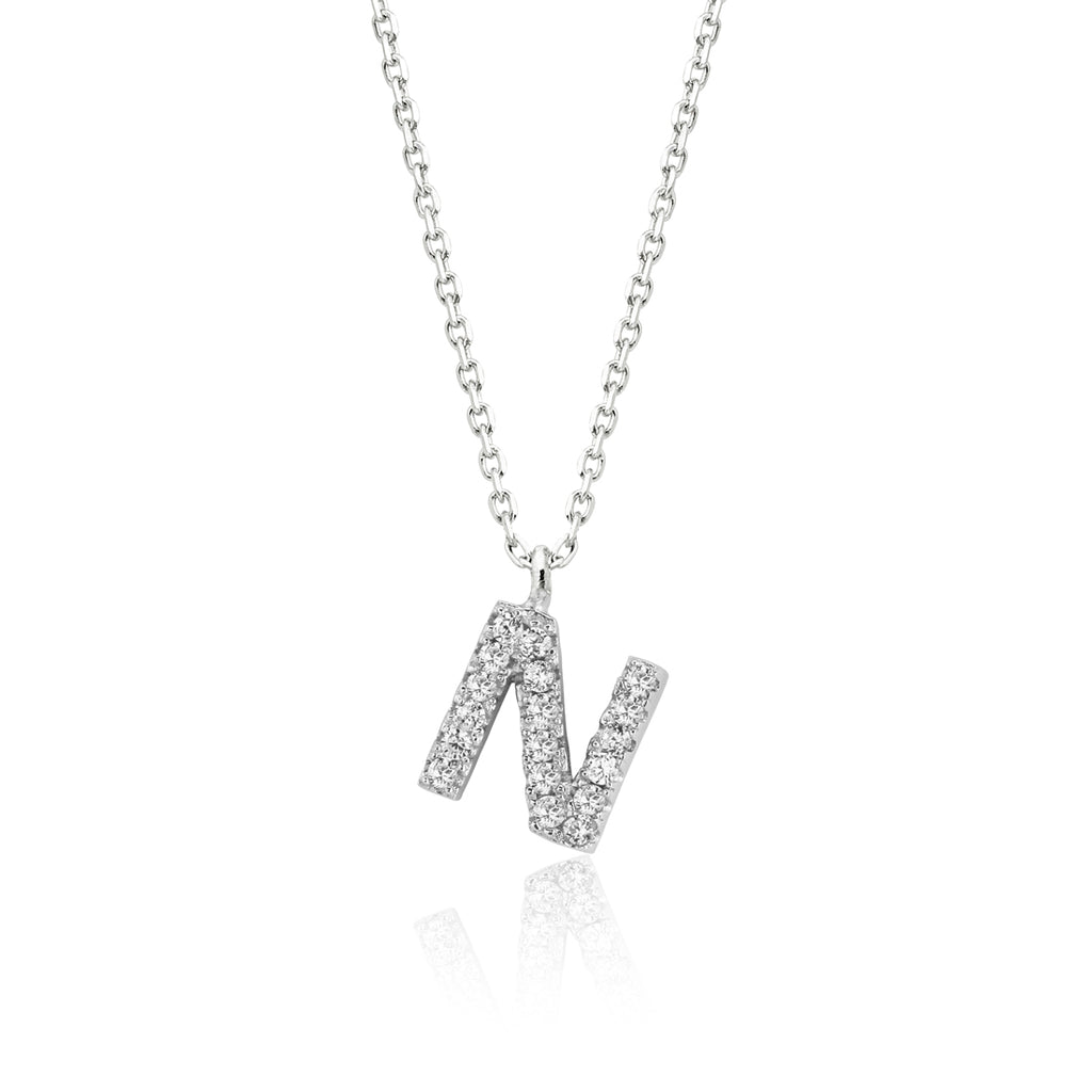 "INITIAL NECKLACE ""N"""