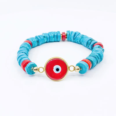 TURQUOISE CORAL EYE