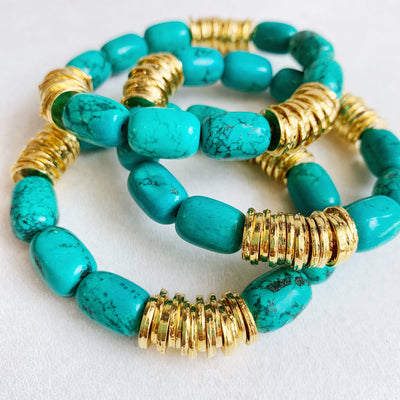 TURQUOISE STACKABLES