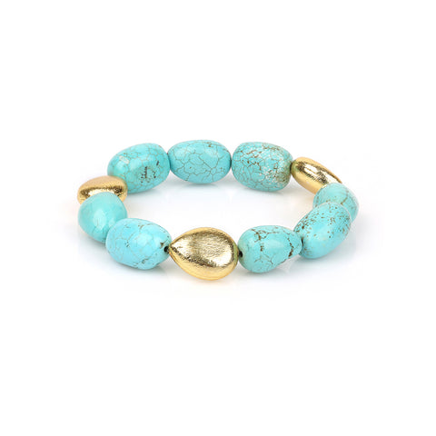 TURQUOISE | GOLD