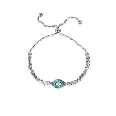 Evil Eye Adjustable Bralecet