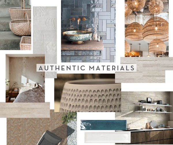 TREND REPORT | Authentic Materials