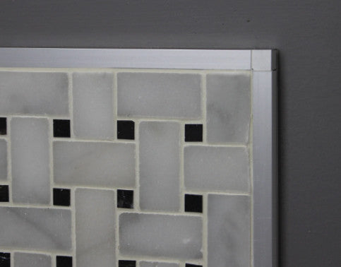 trim square tile edge stainless steel