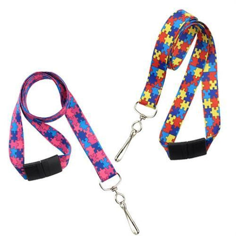 colorful personalized lanyards for teachers
