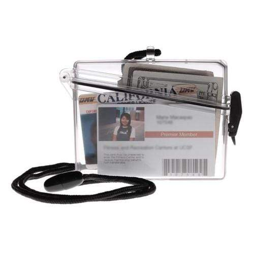 Witz ID Locker Clear Waterproof Badge Holder (02011)