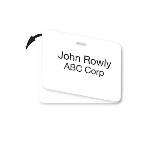 Blank Laser Printable Non-expiring Double-sided Cardbadge, Box of 501 (P/N 04301)