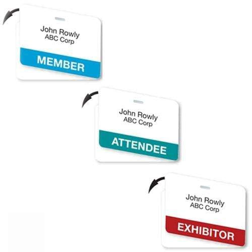 Laser Printable Non-expiring Double-sided Cardbadge (P/N 0440X)