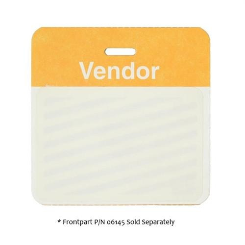 One Day Preprinted Self-Expiring Badge Backpart, Box of 1000 (P/N 059XX)