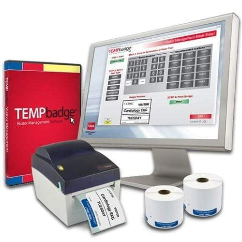 TEMPbadge Visitor Management System 06196