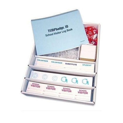 Thermal-printable TIMEbadge Frontpart Expiration, Box of 1000 (P/N T6X51)