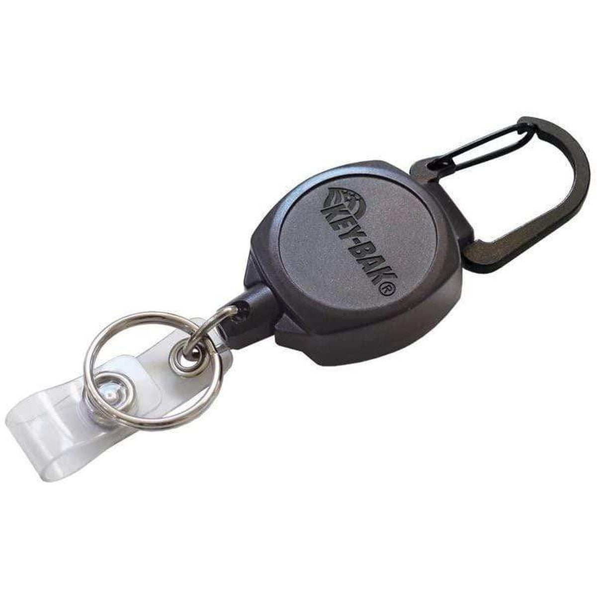 Key-Bak SIDEKICK ID Badge Reel with Key Ring (0KB1-0A21)
