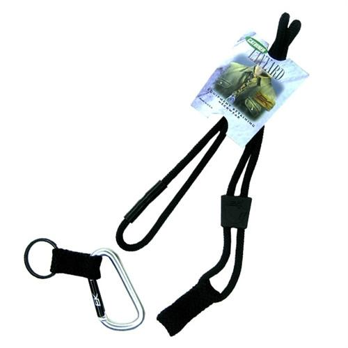Black EK Lanyard With Carabiner (10384) by EK USA