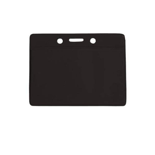 Horizontal Vinyl Color-Back Badge Holder (P/N 1820-200X)