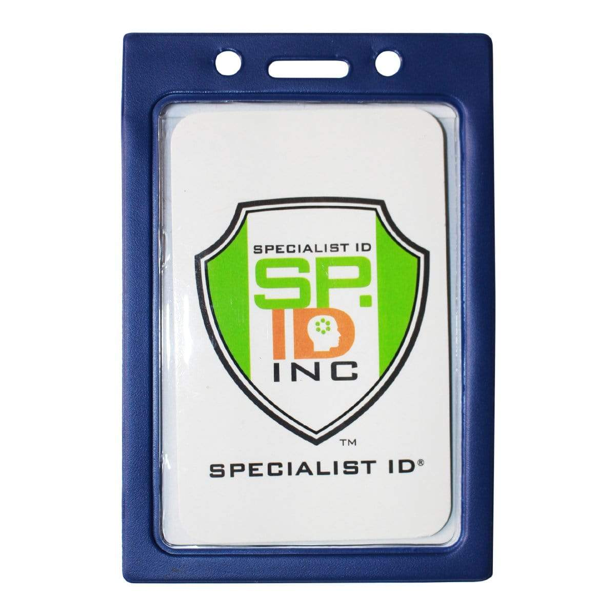 Vertical Vinyl Color Frame Badge Holder (P/N 1820-300x)