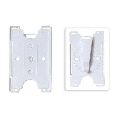Order Online, White Semi-Rigid Convertible Card Holder (P/N 1840-3018)