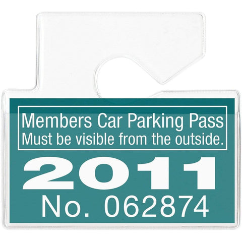 One Step Manually-Issued Self-Expiring Badges, Box of 500 (P/N T200X)