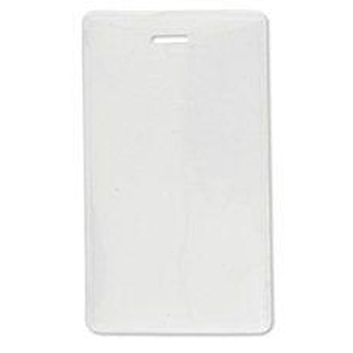 Frosted-Back Flexible Vinyl Vertical Proximity Card Holder 1840-5055