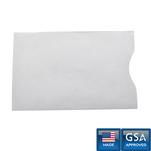 RFID Blocking Shielded Credit Card Sleeves (P/N 1840-5084)