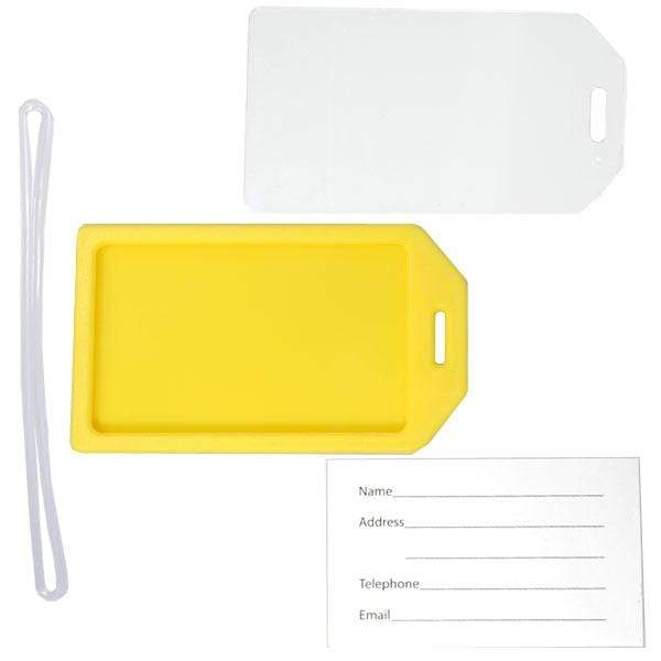 "Rigid Plastic Luggage Tag Holder with 6"" loop (P/N 1840-620X)"