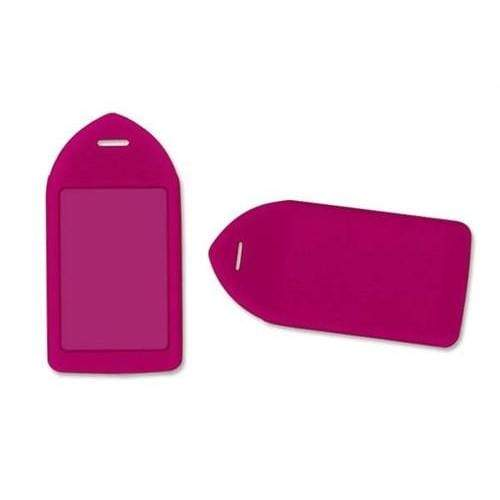 Order Online, Neon Purple Rigid Plastic Luggage Tag  Holder (P/N 1840-6213)
