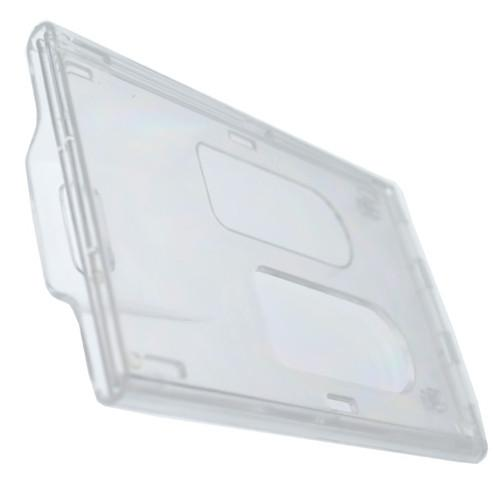 Rigidwear Clear Vertical 2-Card Badge Holder 1840-6560 (Jam P/N 706-NN2)
