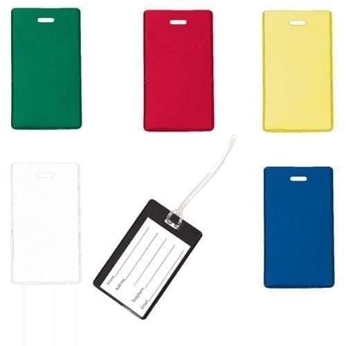 Buy Online Cheap, Yellow Semi-Rigid Vinyl Luggage Tag Holder 1845-2009