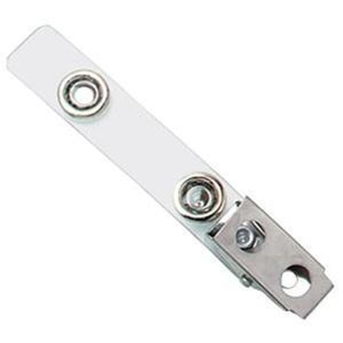"2-Hole Strap Clip with Large 7/16"" Snaps"