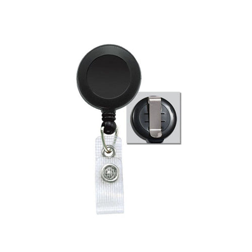 Badge Reel With Reinforced Vinyl Strap and Belt Clip (P/N 2120-300X)