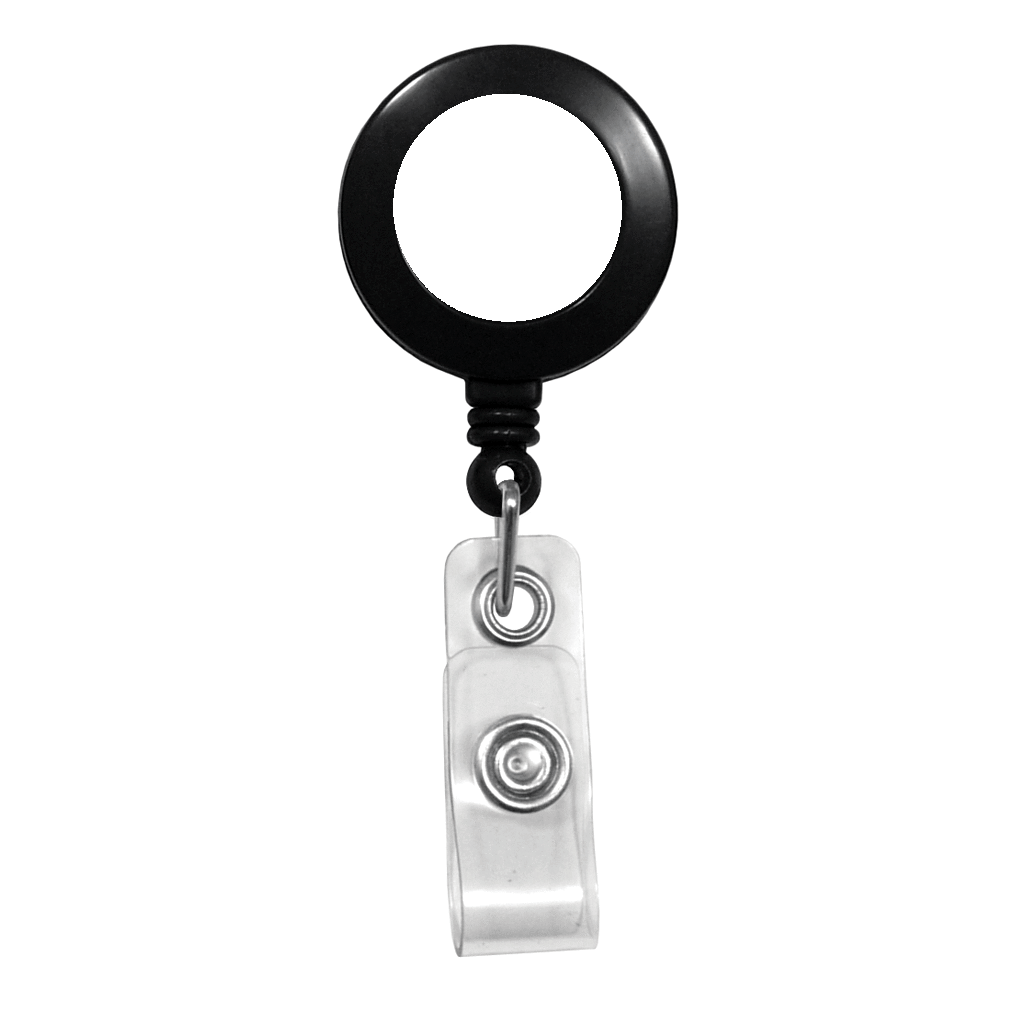 Custom Printed Retractable Badge Reels - Upload Your Logo