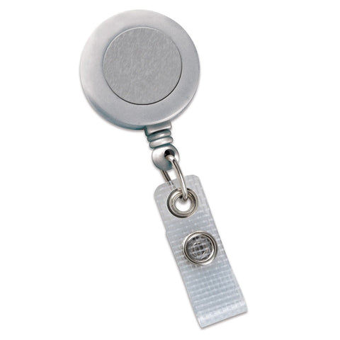 Badge Reel With Reinforced Vinyl Strap And Spring Clip (P/N 2120-475X)