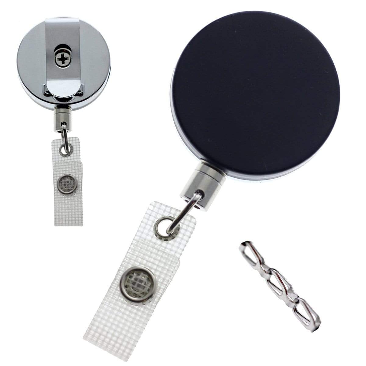 Heavy Duty Badge Reel With Chain (P/N 2120-3375)