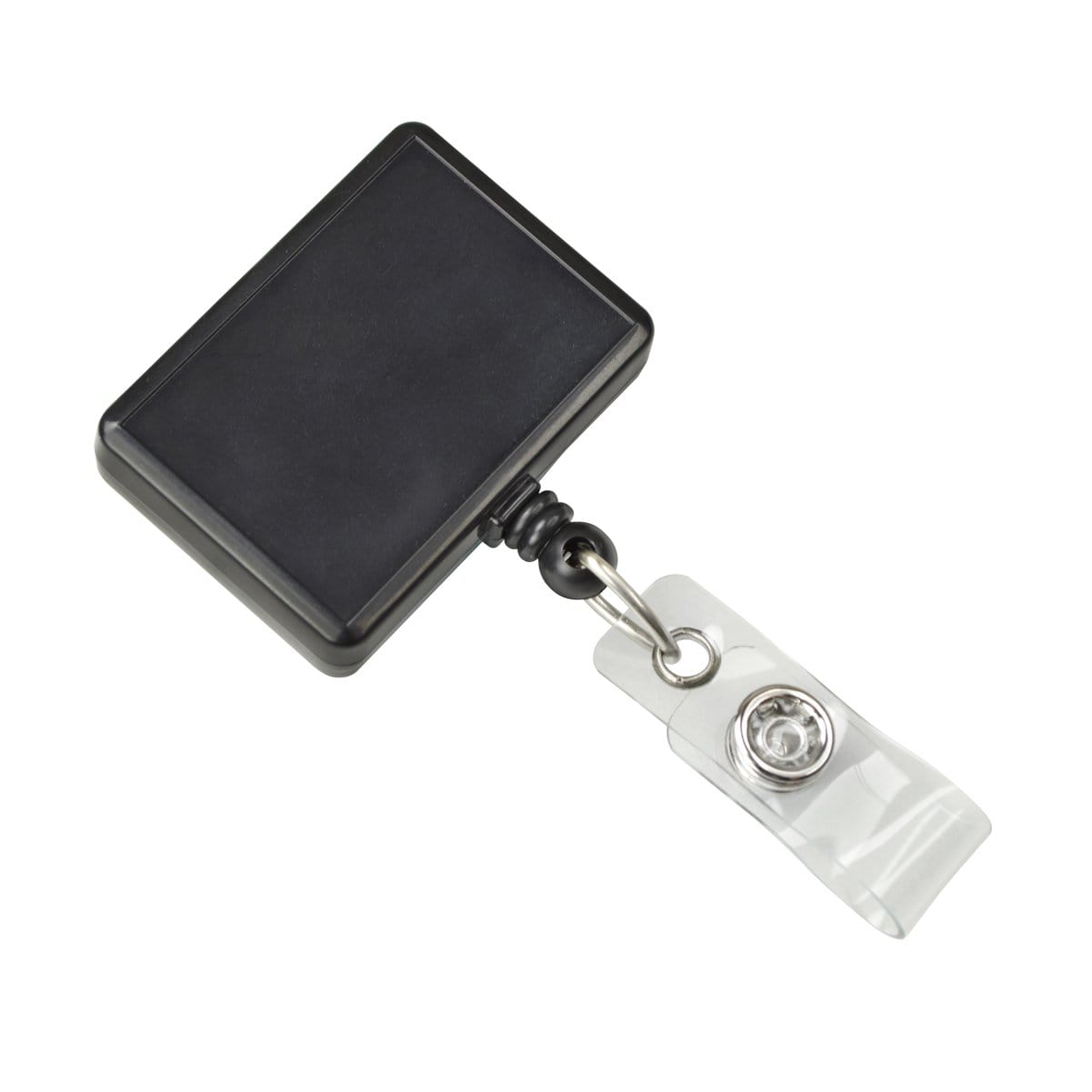 Rectangle Retractable Badge Reel With Rotating Swivel Clip (P/N 2120-390X)