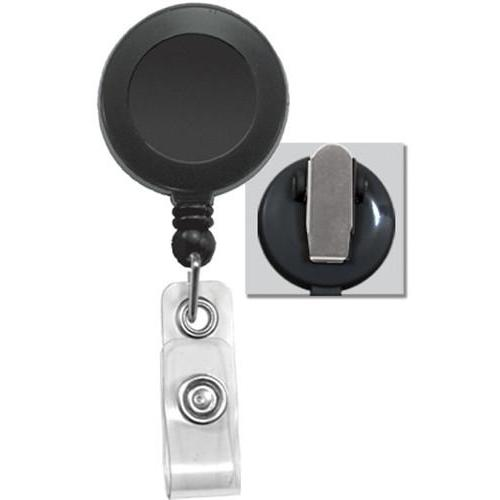 Order Online, Black Retractable Badge Reel With Spring Clip 2120-4701