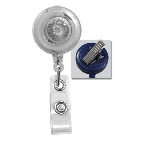 Translucent Badge Reel with Swivel Clip (P/N 2120-762X)