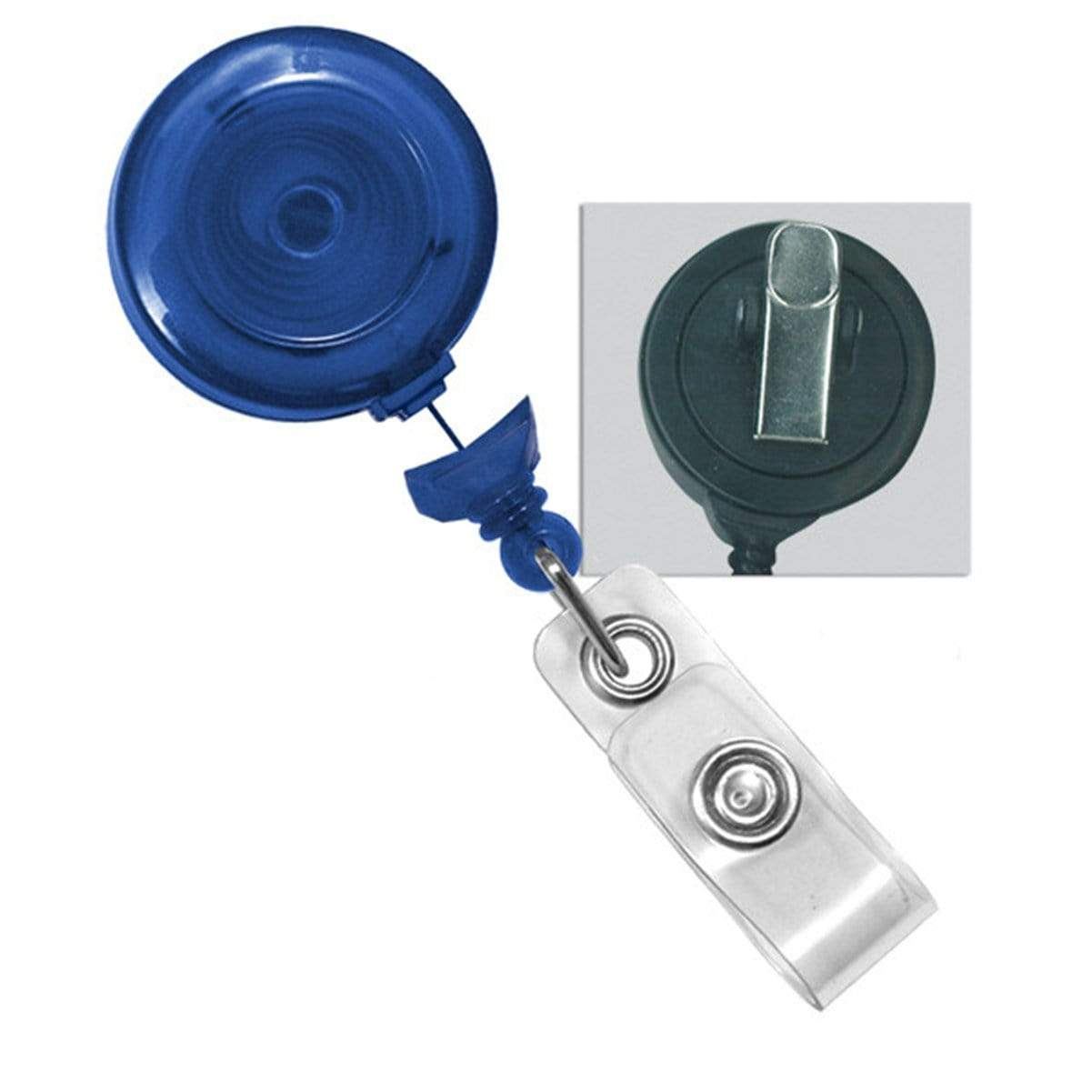 No Twist Badge Reel with a Swivel Spring Clip (P/N 2120-764X)