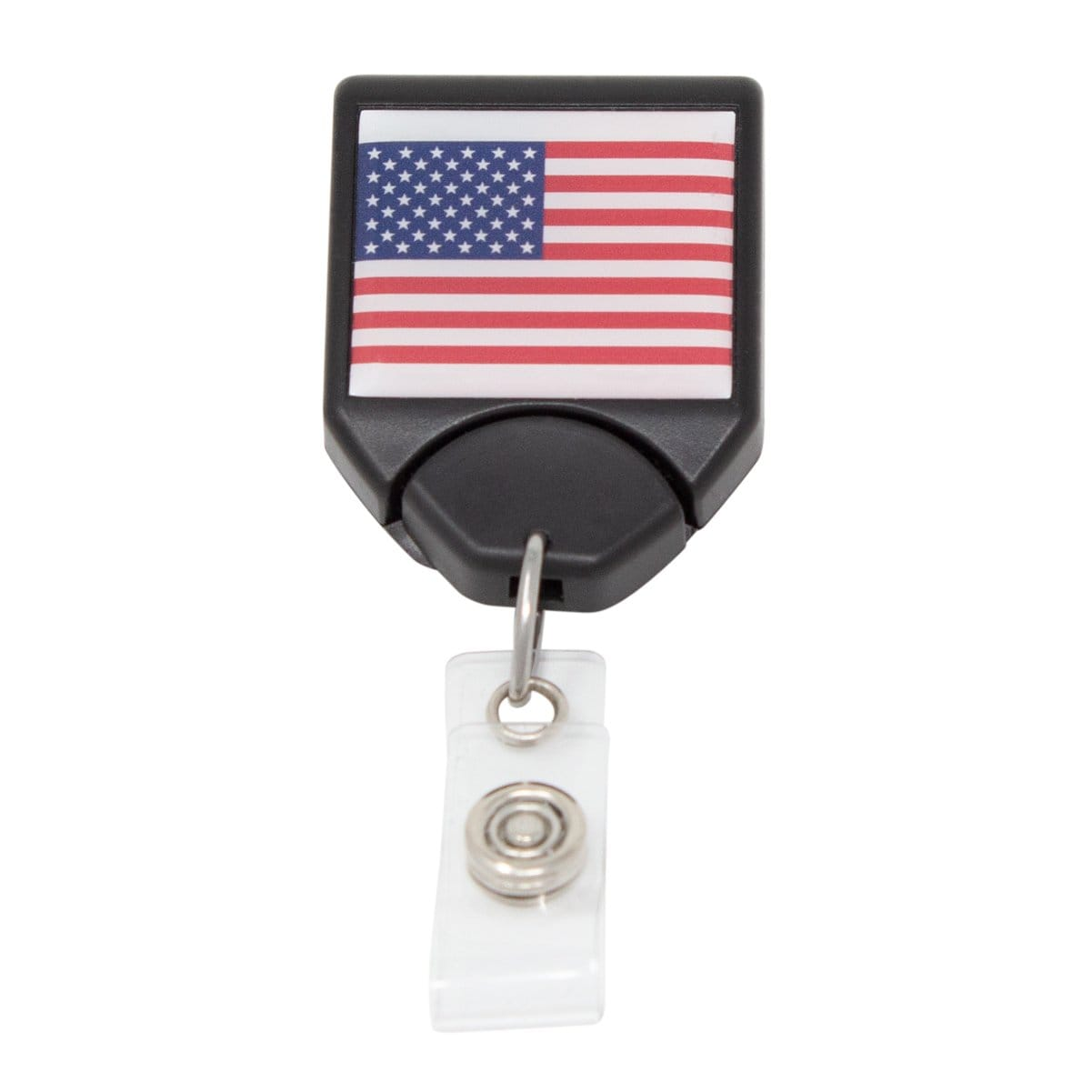 USA Patriotic Flag B-Reel with Swivel Clip (P/N 2120-7653)