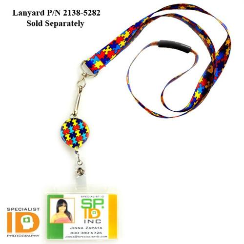 Autism Awareness Badge Reel (2124-3050)