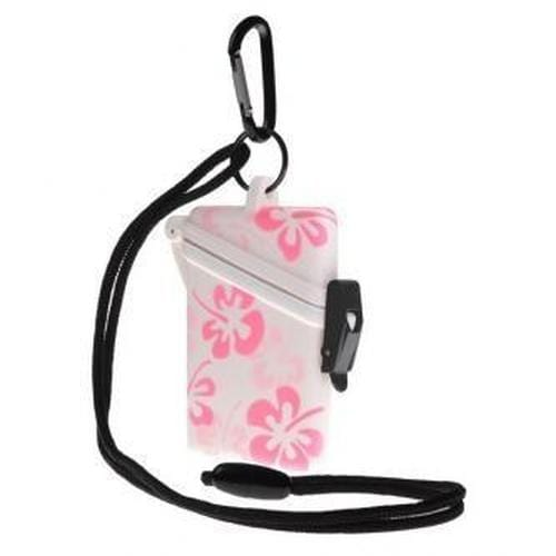 Order Online, Witz  Waterproof Flower Surf Safe with Breakaway Lanyard And Carabiner (P/N 213)